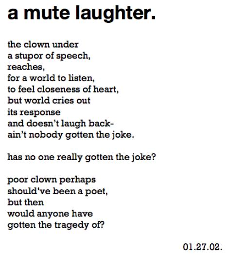 poetic ethnography::rants